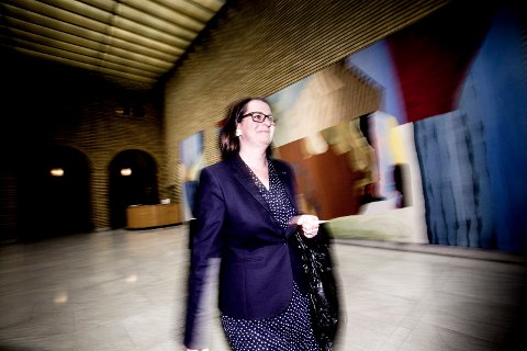 PÅ TOPPEN: Tone Wilhelmsen Trøen (H) fra Eidsvoll er den andre kvinnen i Norge som blir stortingspresident.