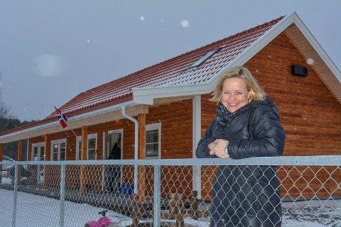 STYRER: Cahrrine Brekken Kolstad i Plommehagen barnehage. De er høyt oppe på lista. Foto: Anne Enger Mjåland