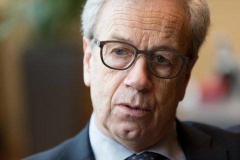 Ifølge sentralbanksjef Øystein Olsen i Norges Bank betaler fornrukslånskunder det som før ble betegnet for ågerrenter, som betyr ulovlig eller urimelig høye renter på lån. Foto: Paul Weaver (Nettavisen)