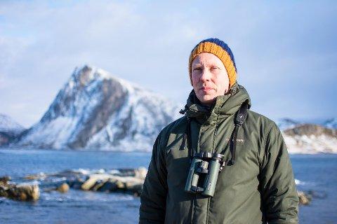 Martin Eggen i Norsk Ornitologisk Forening sier Vorma er et godt sted å være for havørner.
