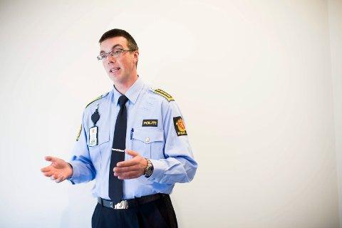 AVVENTER ETTERFORSKNINGEN: Leder for politiets grografiske enhet på Romerike,Terje Didriksen.