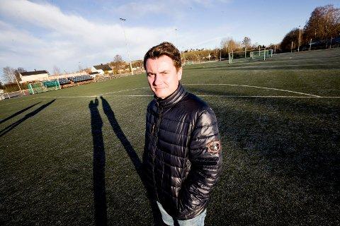 Optimist: Daglig leder Atle Søgård regner med at Lillestrøm-politikerne lar Fet Arena få refinansiere lånet, slik at den nybygde idrettshallen har egenkapital nok til å sikre driften i flere år framover.