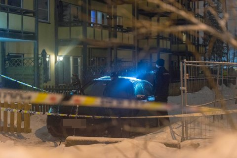STORE RESSURSER: Politiet samarbeider med Kripos og Oslo politidistrikt etter skyteepisoden.