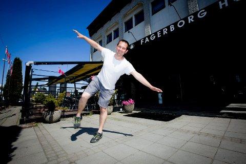 ÅPNER NYTT UTESTED: I det gamle Fagerborg hotell skal Uros Arandelovic drive utested.