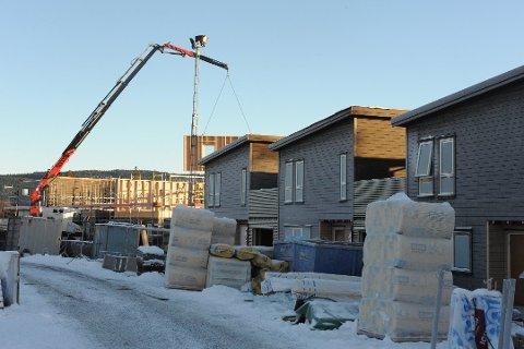 DYRT Å SØKE OM BYGGING: I Nittedal må man ut med 44.050 kroner i saksbehandlingsgebyr. Bildet er fra Kruttverket i Nittedal i vinter.