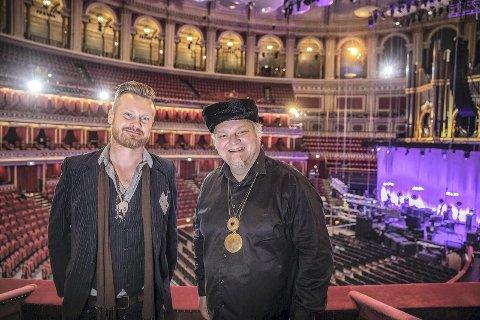 Legendarisk Storstue: Amund Maarud (t.v.) og Knut Reiersrud inntar neste høst en av verdens mest berømte konsertsaler, Royal Albert Hall i London. Begge Foto: Per Ole Hagen