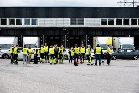 LEGGES NED: I sommer streiket de lageransatte hos Elkjøp. Nå har de vunnet mot giganten. FOTO: VIDAR SANDNES