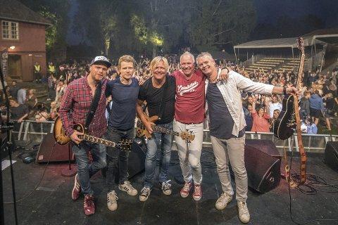 Kommer tilbake: Splitter Pine spilte på Blaker Skanse i fjor, og gleder seg til å komme tilbake igjen i år. Foto: Jørgen Kirsebom