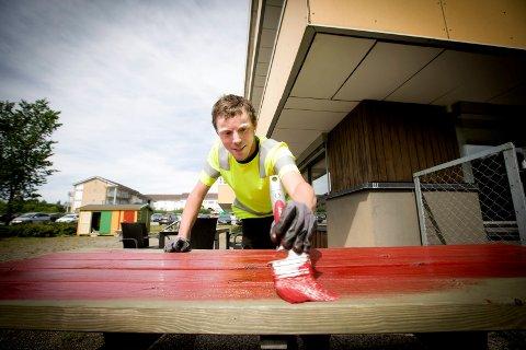 STORTRIVES: Kristian Rognli har vært tre uker i sin nye jobb gjennom Ullensaker kommune. – Jeg gleder meg til jobb hver dag, fastslår 29-åringen.