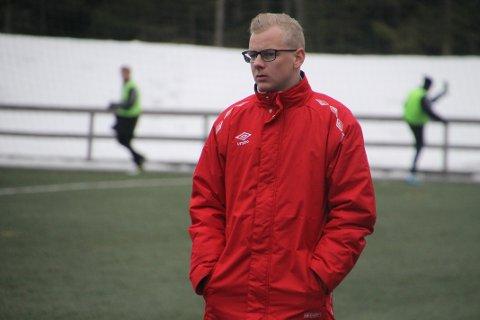 SKUFFET: Ørjan Heiberg så Fu/Vo tape 4-3 for rekruttlaget til Strømmen mandag kveld.