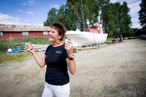 ENDELIG!: – Dette har vært et veldig viktig mål for meg som avdelingsdirektør, sier Røine, som snart takker for seg etter 13 år ved Fetsund lenser.