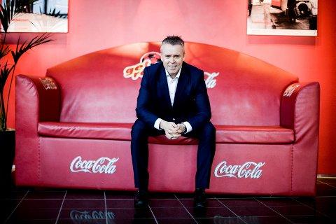 REKORDÅR: Stein Rømmerud kan legge fram tidenes beste regnskap for Coca-Cola i Norge. (Foto: Tom Gustavsen)