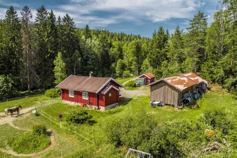 TIDLIGERE HUSMANNSPLASS: Interessen har vært stor for den tidligere husmannsplassen på Losby.