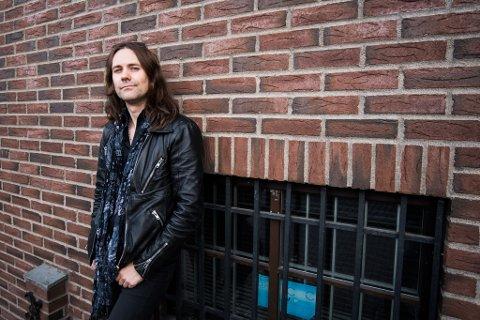 Trommeslager Håvard Takle Ohr i bandet El Cuero