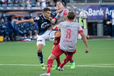 Strømmen tapte 0-2 mot Viking i Stavanger.  Foto: Carina Johansen / NTB Scanpix
