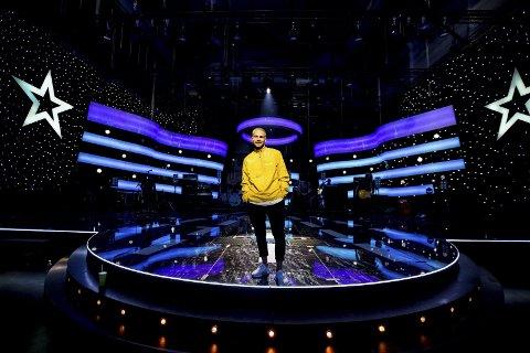 Klar: Lørdag er det premiere på sjuende sesong av «Stjernekamp» på NRK. Chris Holsten fra Lillestrøm er en av deltakerne. Han håper lillestrømlinger og romerikinger vil stemme ham fram.foto: Tom Gustavsen