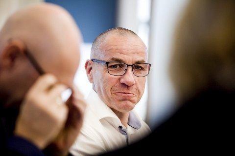INGEN KOMMENTAR: Ordfører Tom Staahle vil ikke kommentere om han har hatt personlige samtaler med samferdselsminister Ketil Solvik-Olsen om rullebane-alternativer.foto: Tom Gustavsen