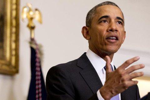 Celeber gjest: Barack Obama legger turen til Romerike i september. Foto: AP Photo/Jacquelyn Martin, File