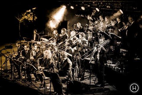Prime Time Orchestra fra Sandvika er et av storbandene som spiller på Romerike storbandfestival