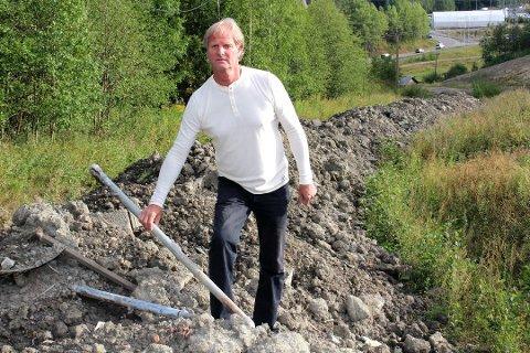 OPPGITT: Parksjef i Skedsmo kommune, Svein Rune Ussberg, beskriver analysesvarene som nedslående.