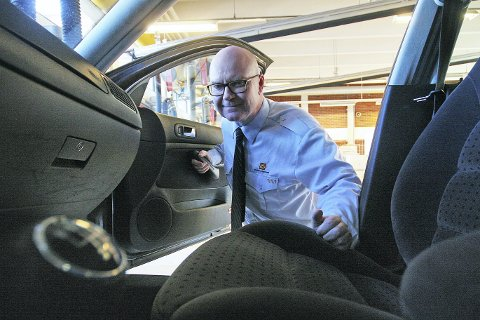 Sensorer: Områdeleder for førerkort i region Romerike/ Glåmdalen, Ståle Kjetil Bech har 16 sensorer å spille på for førerkortgodkjenning.