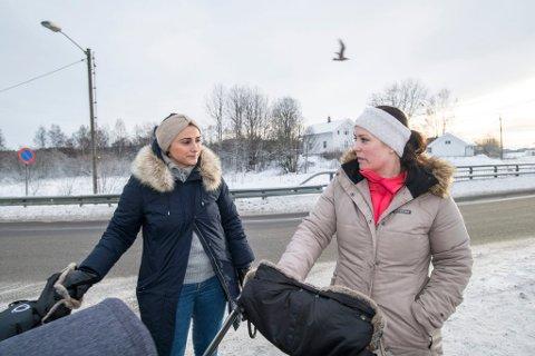 REDDE: - Jeg hadde nok ikke turt å jogge rundt vannet alene her nå, sier Nurten Aydin (t.v.) og får støtte av venninnen Carina Haraldsen.