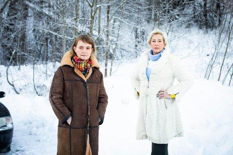 BEKYMRET: Lise Askvik og Lene Sundfør Haug i Helsepartiet mener folk på Romerike har grunn til å være bekymret for konsekvensene av den planlagte sykehusutbyggingen i Oslo.