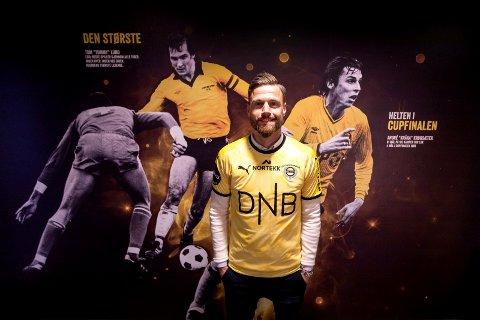 VALGTE LSK: Arnor Smárason blir å se i LSK-drakt denne sesongen.