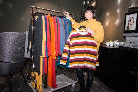 Designer Grete Marie Borgaard startet opp Makeløs i 2013. I sin nye kolleksjon fokuserer hun på bærekraftige materialer i økologisk bomull.