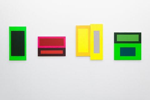 Hennie Ann Isdahl, i utstillingen Et maleri er et dikt uten ord.