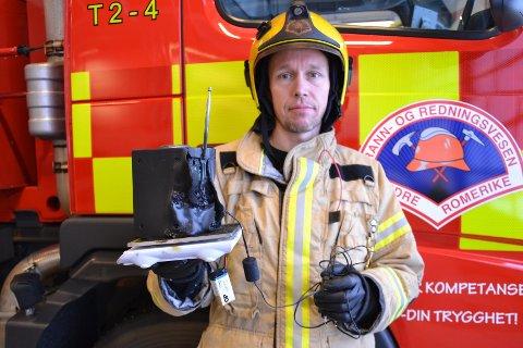 – SJEKK RØYKVARSLEREN DIN: Oppfordringen fra brannvesenet er klar. FOTO: NEDRE ROMERIKE BRANN- OG REDNINGSVESEN
