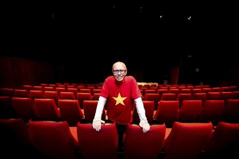 John Jørgen Støa, kulturhusleder i Ullensaker kulturhus, tror kulturhushøsten vanskelig.