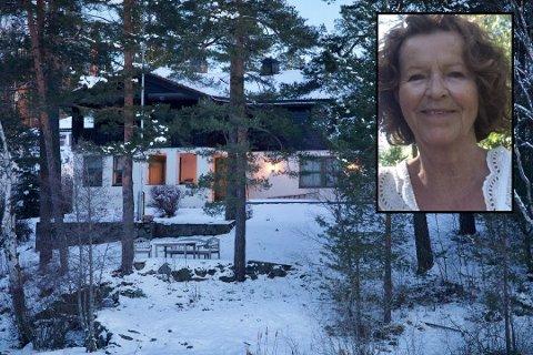 KIDNAPPET: Her i denne boligen på Fjellhamar i Lørenskog ble 68 år gamle Anne-Elisabeth Falkevik Hagen kidnappet.