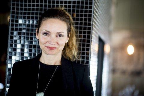 Holder navnet hemmelig: Rikke Komissar, direktør for Akershus kunstsenter, vil foreløpig ikke si hva styret i kunstsenteret har døpt det nye kunstsenteret. FOTO: TOM GUSTAVSEN