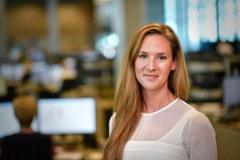 SPÅR UENDREDE RENTER: Jeanette Strøm Fjære i DNB Markets spår uendrede renter i tre år fremover. Foto: Stig B. Fiksdal (DNB)