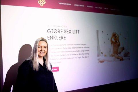 HAR STARTET PODCAST: Sexolog og gründer Kjersti Antonsen har en ambisjon om å gjøre sex enklere å snakke om.