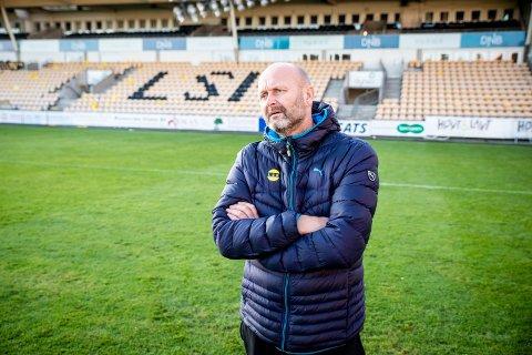 SAMARBEIDER: Robert Lauritsen i LSK sier at klubben og supporterne har et godt samarbeid.