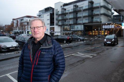 STOR ØKNING: Styreleder Sverre Hollie skulle gjerne sett at kommunen ga tidligere beskjed og gjorde prishoppet mer gradvis.