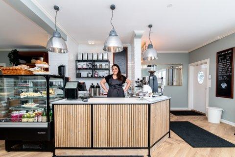 NYÅPNET: Mandag åpnet Sara Maria Helstad dørene til Studio Kafé.