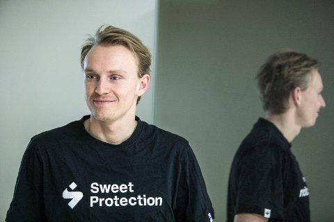 Henrik Kristoffersen har ristet av seg skuffelsen etter 18.-plassen i Sölden. Foto: Ole Berg-Rusten / NTB scanpix