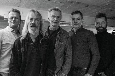 Bjølsen Valsemølle 2019.  Trond Ingebretsen, Leif Ottesen, Lars Aas Hansen, Endre Christiansen og Even Finsrud.