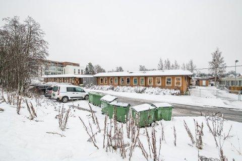 TILBAKE: Therese Espeland, mor og FAU-leder ved Sagelva barnehage, bekrefter mandag at kloakklukta er tilbake igjen,  bare én uke etter kommunen anså problemet som løst.