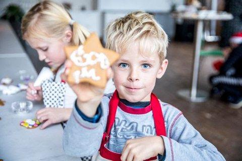 JULEKAKER: Pepperkaker er den mest populære julekaken.