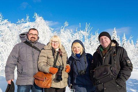 fotografer fra Hviterussland: Nikolay Serebryakov, Marina Zavinovskaya, Liudmila Voida og Sergey Borushko