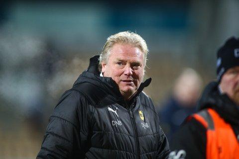 MÅ GÅ: Jörgen Lennartsson er trolig ferdig som LSK-trener i løpet av mandagen.