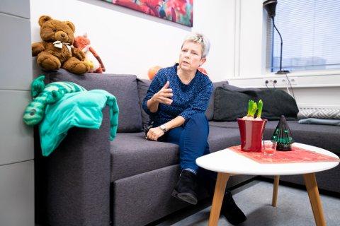 Kari Elisabeth Fjærli, leder for Barnevernsvakten på Romerike, forteller om hektiske perioder etter at de ble døgnbemannet for snart to år siden.