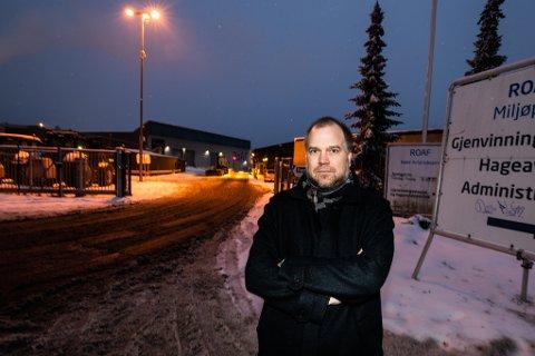 Gunnar Grini, bransjesjef for gjenvinning i Norsk Industri, mener ettersorteringsanlegget på Skedsmokorset er en dårlig investering. Ved anlegget sorteres ut husholdningsavfallet fra innbyggerne på Nedre Romerike, Halden og Follo.
