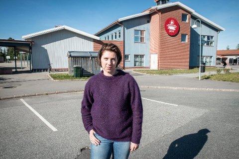 OPPRØRT: – Vi reagerer kraftig på at formannskapet går imot rådmannens forslag om utbygging av skolen, sier FAU-leder Anita Ervik.