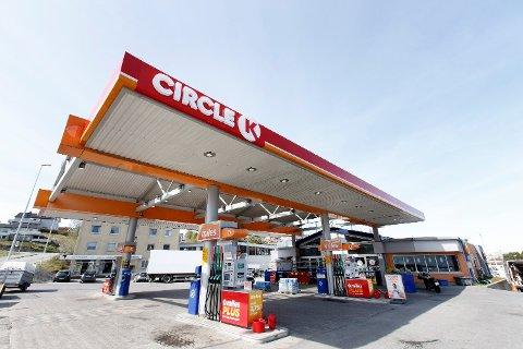 REKORD: Mandag gikk de veiledende prisene hos Circle K opp til 17,53 kroner per liter for bensin og 16,78 kroner literen på diesel.