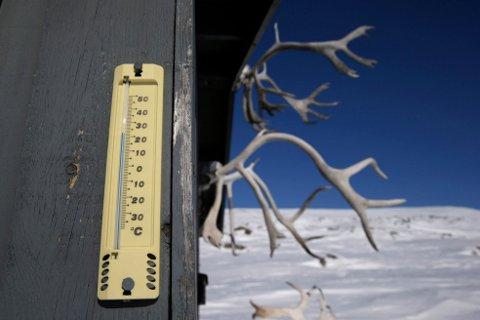 Gjennom marg og bein: Iskalde vinterdager gjør seg ofte best gjennom vinduet ... Illustrasjonsfoto: NTB scanpix.